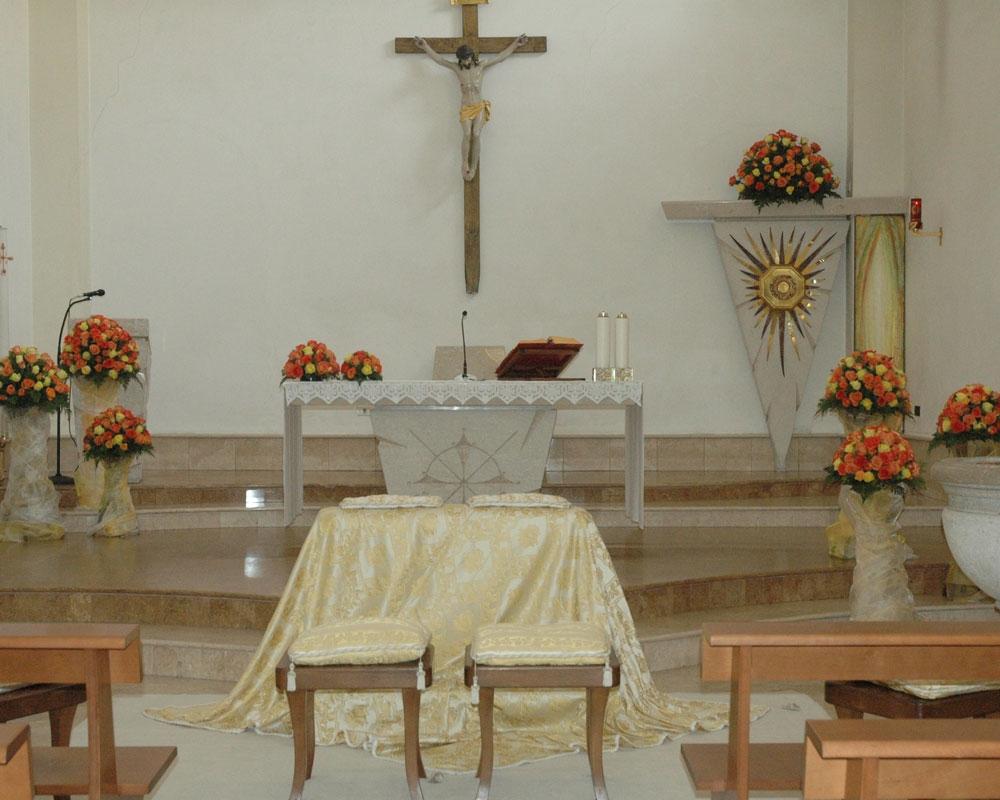Addobbo Chiesa S. Carlo Borromeo 1