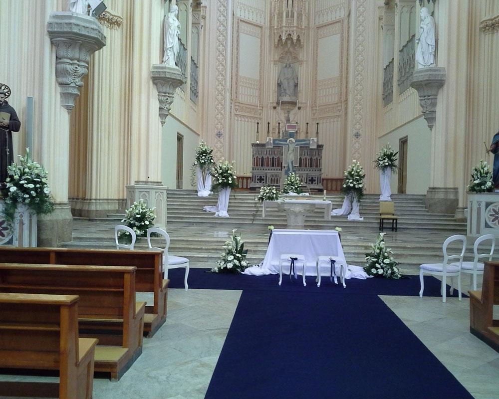 Addobbo Chiesa S. Francesco 1/A
