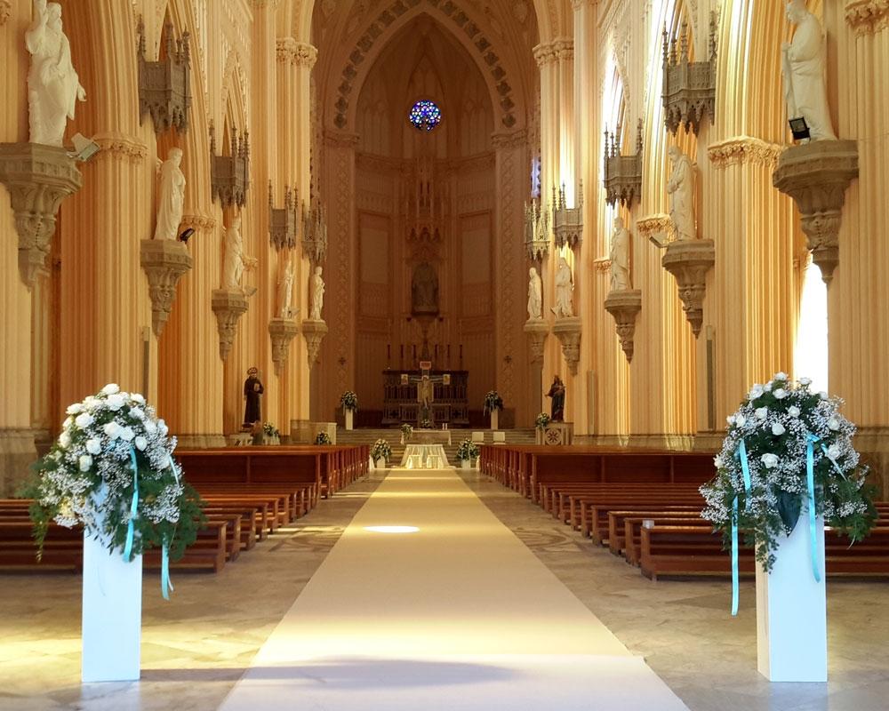 Addobbo Chiesa S. Francesco 2/A