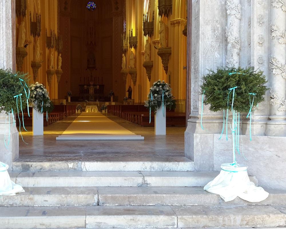 Addobbo Chiesa S. Francesco 2/B
