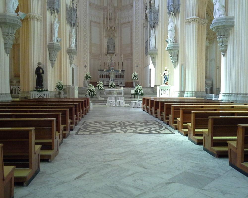 Addobbo Chiesa S. Francesco 3X