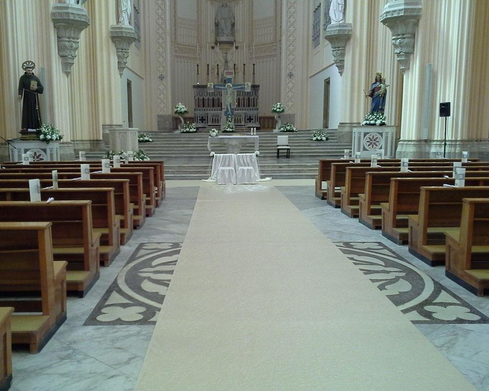Addobbo Chiesa S. Francesco 6