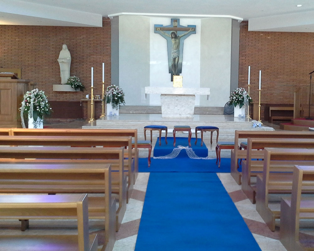 Addobbo Chiesa S. Paolo 1