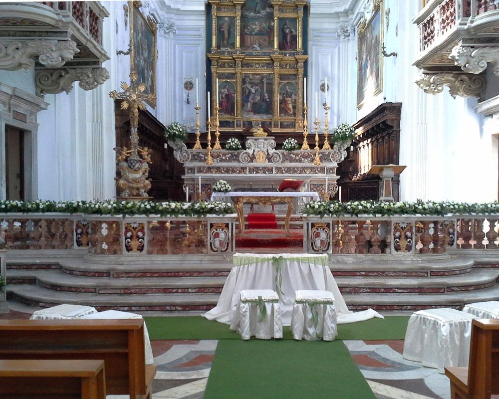 Addobbo Chiesa SS. Annunziata 1