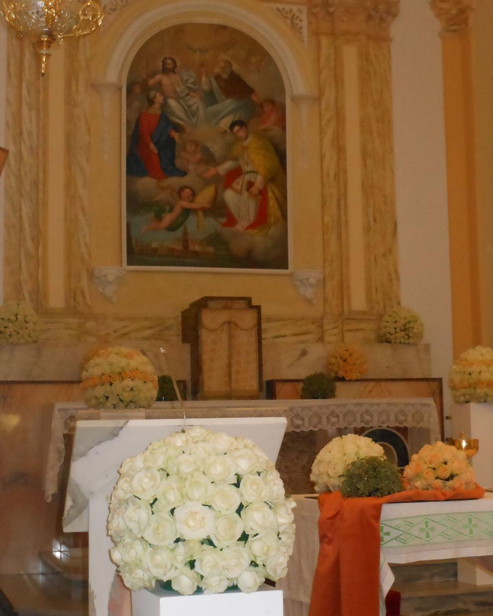 Addobbo Chiesa SS. Trinità Montagna Spaccata 1/A