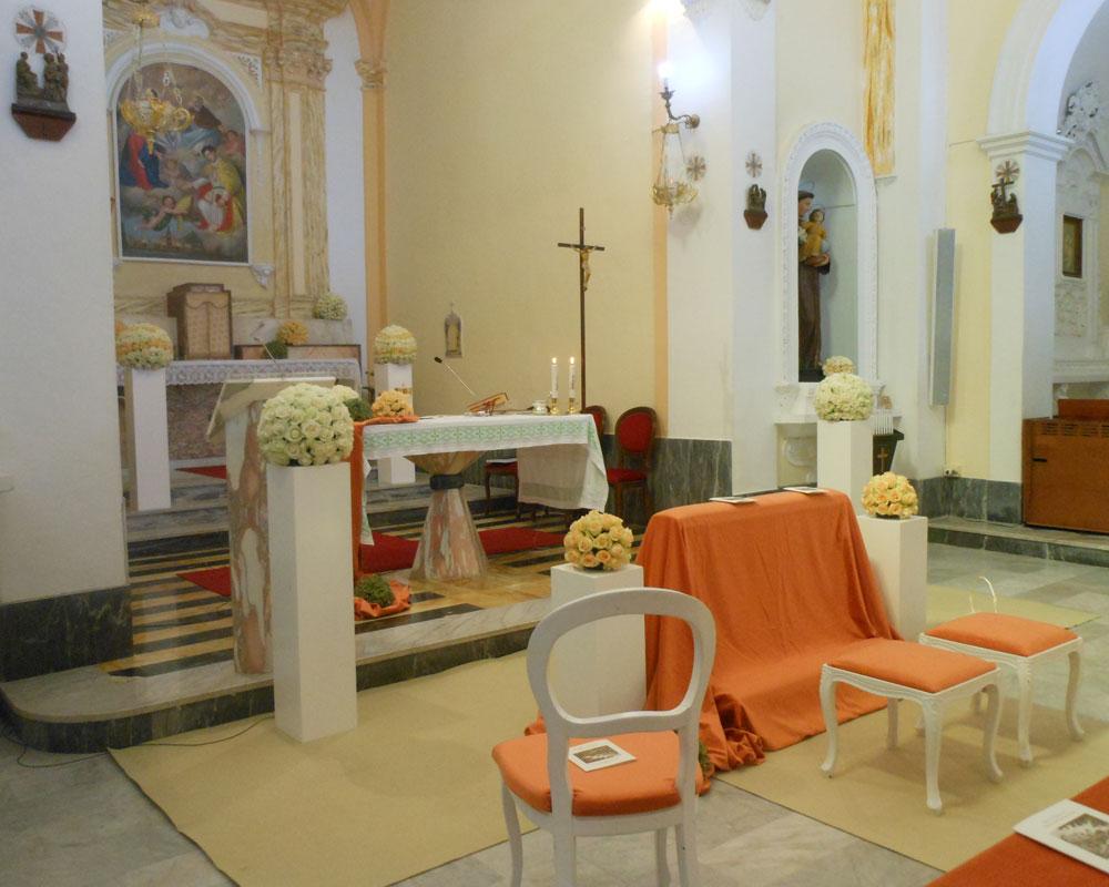 Addobbo Chiesa SS. Trinità Montagna Spaccata 1