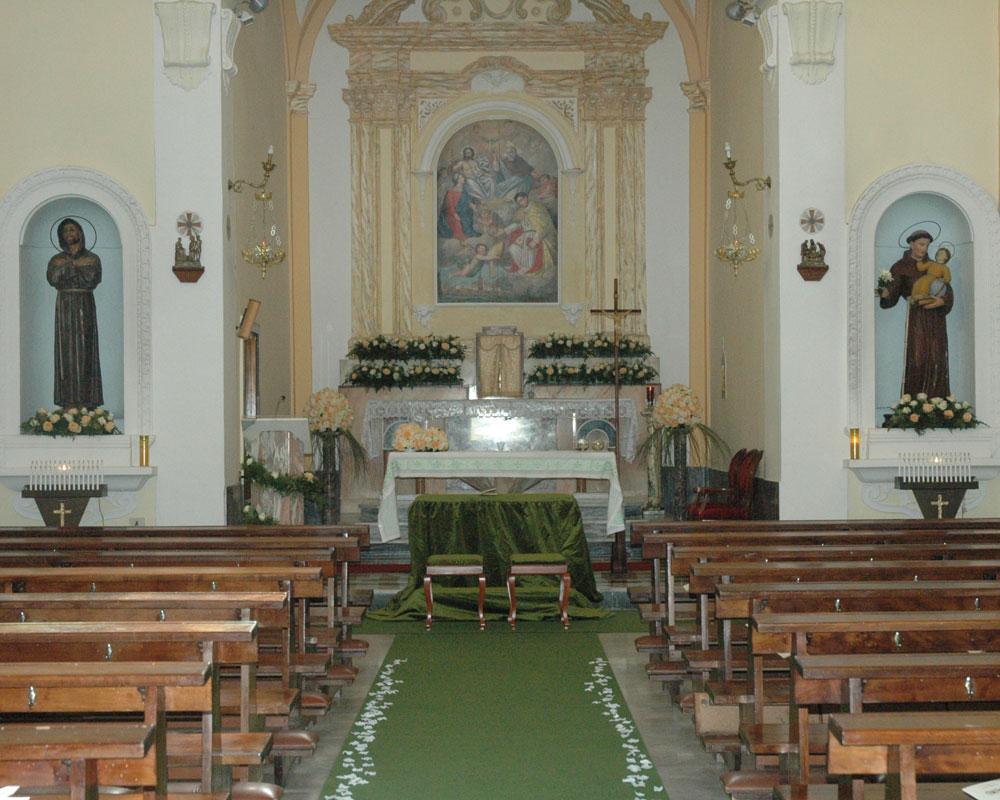 Addobbo Chiesa SS. Trinità Montagna Spaccata 7