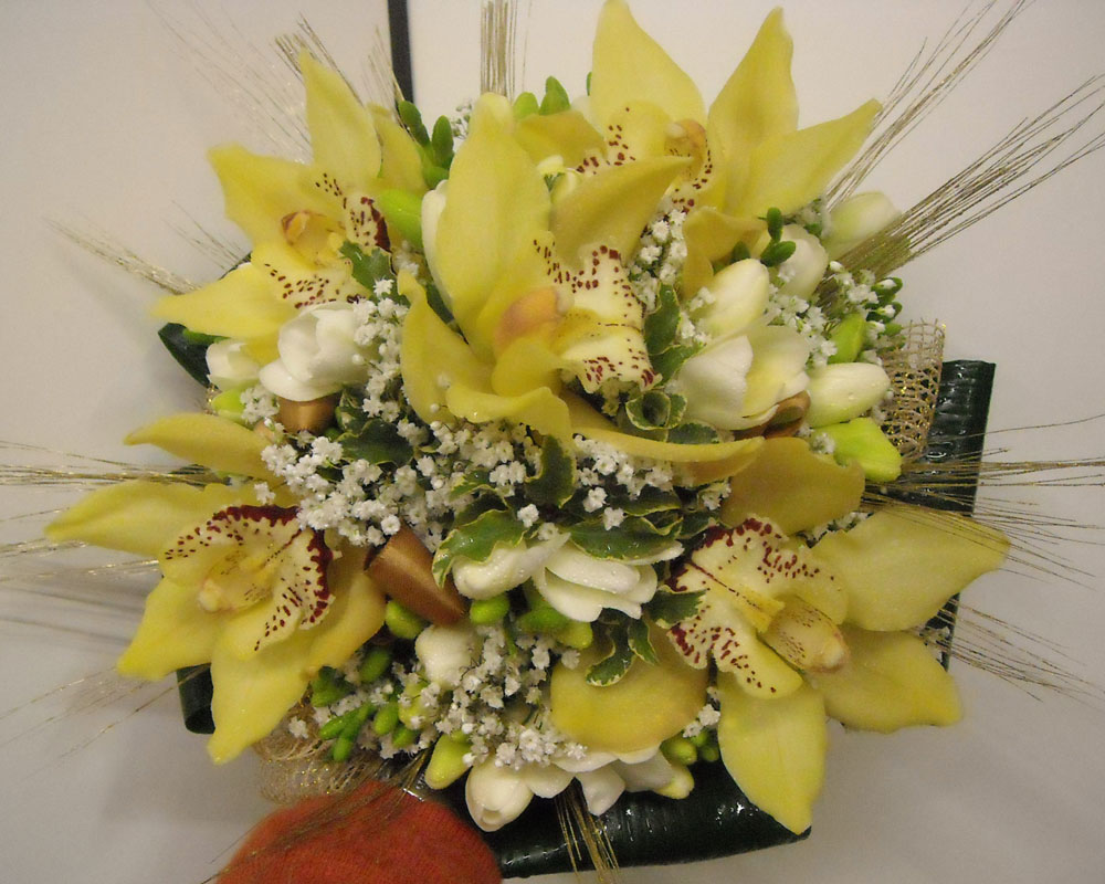 Bouquet Oro 6