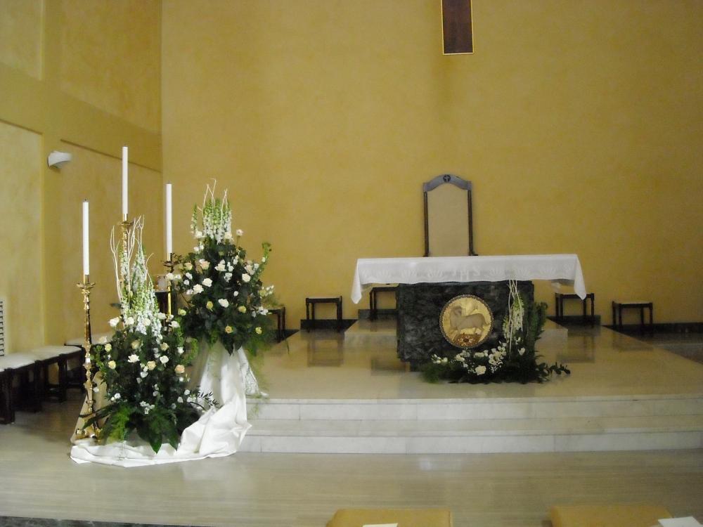 Addobbo Chiesa S. Nilo 4/A