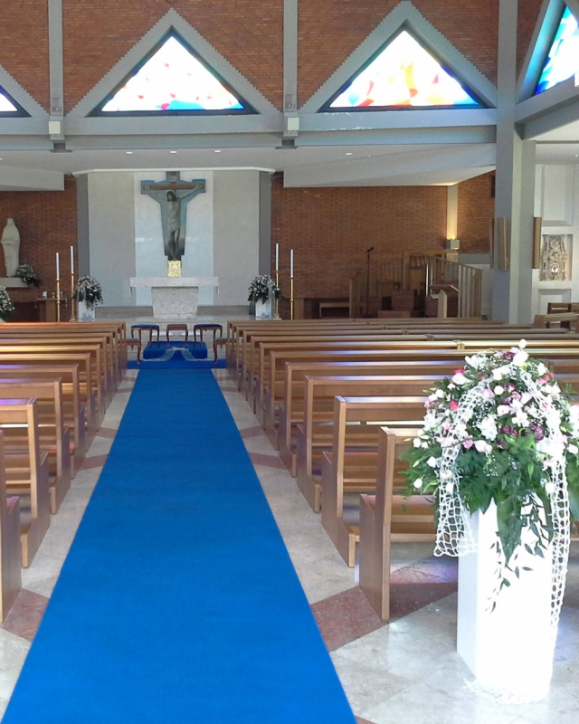 Addobbo Chiesa S. Paolo 2
