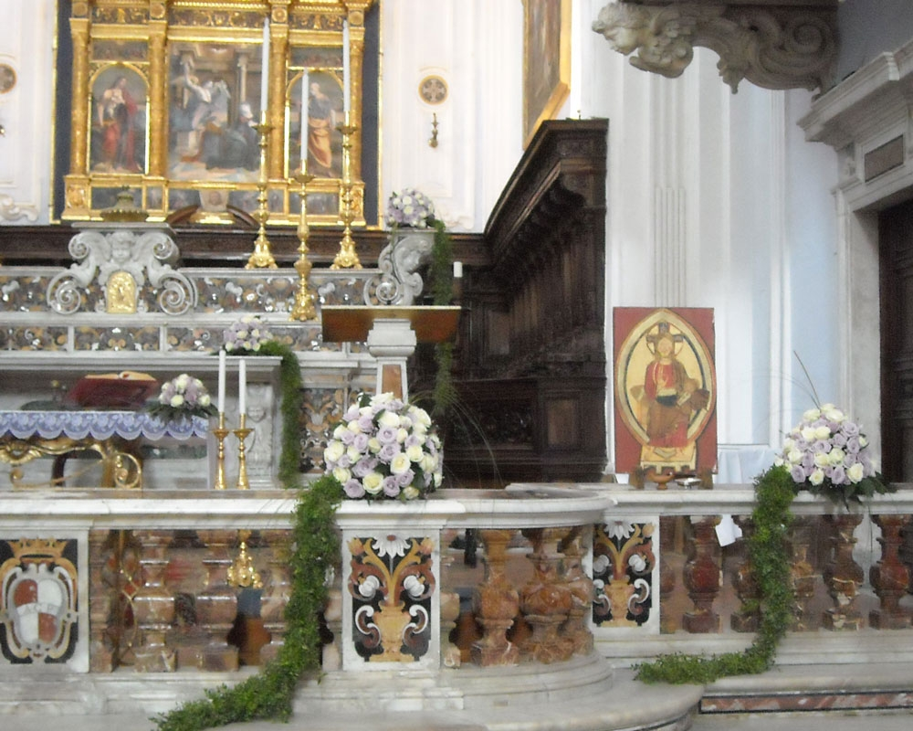Addobbo Chiesa SS. Annunziata 13