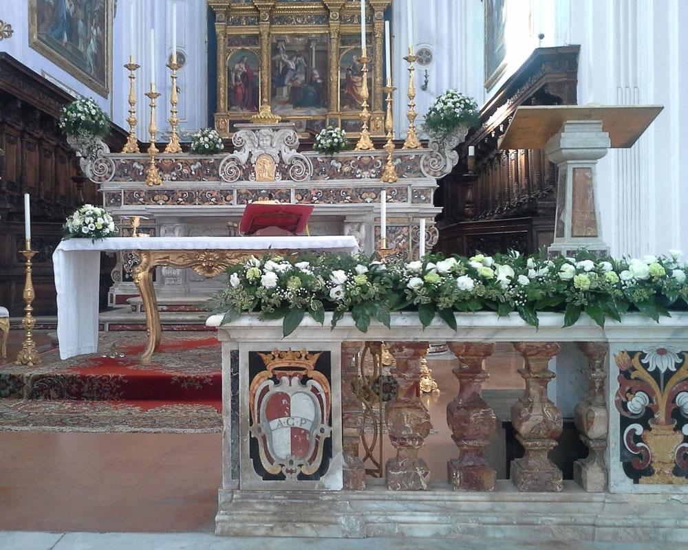 Addobbo Chiesa SS. Annunziata 16