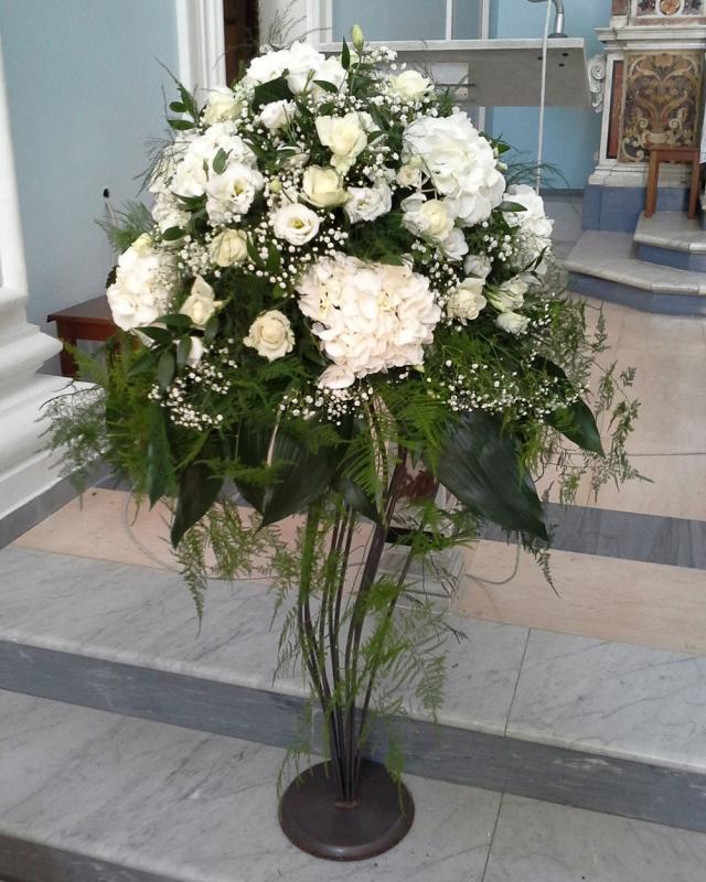 Addobbo Chiesa SS. Cosma e Damiano 3/B