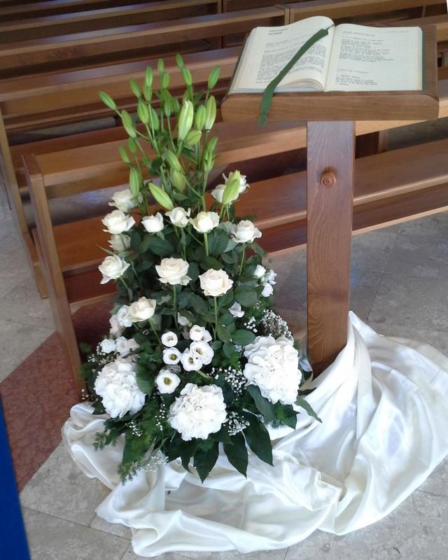 Particolare Addobbo Chiesa S. Paolo 1