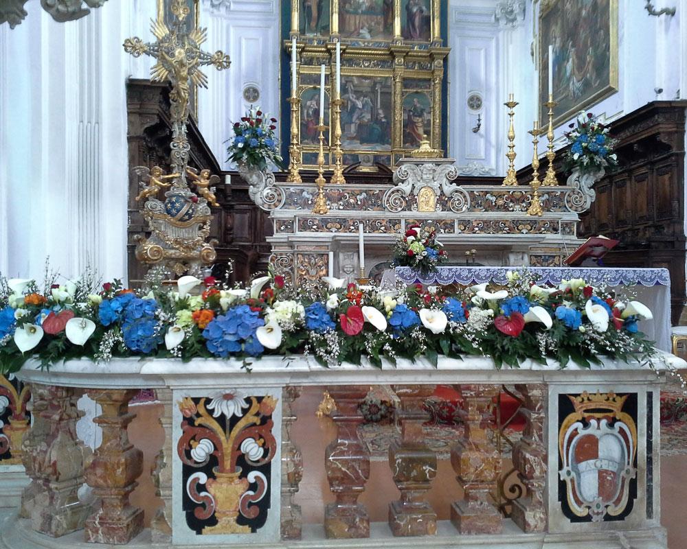 Addobbo Chiesa Funerale 1