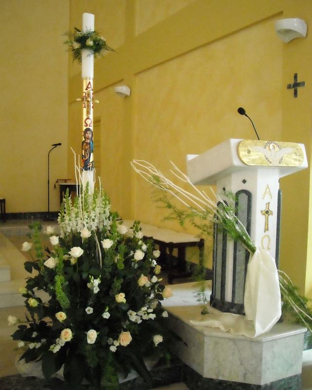 Addobbo Chiesa S. Nilo/4