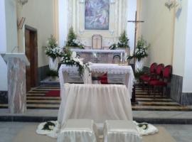 Addobbo Chiesa SS. Trinità Montagna Spaccata 12/D