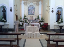 Addobbo Chiesa SS. Trinità Montagna Spaccata 12