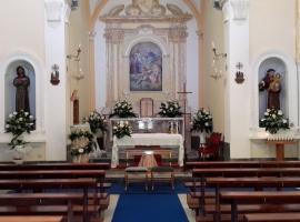 Addobbo Chiesa SS. Trinità Montagna Spaccata 13/A