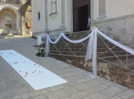 Addobbo Chiesa SS. Trinità Montagna Spaccata 3/D