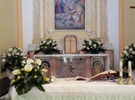 Addobbo Chiesa SS. Trinità Montagna Spaccata 5/A