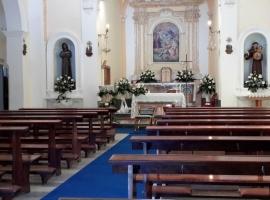 Addobbo Chiesa SS. Trinità Montagna Spaccata 5/B