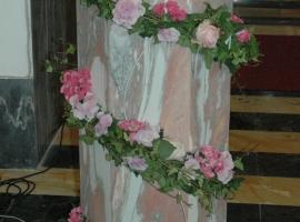 Addobbo Chiesa SS. Trinità Montagna Spaccata 6/A