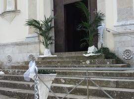 Particolare Addobbo Chiesa SS. Trinità Montagna Spaccata 8