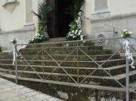 Particolare Addobbo Chiesa SS. Trinità Montagna Spaccata 9