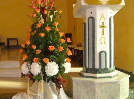 Addobbo Chiesa S. Nilo 2/A