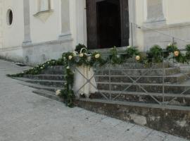 Particolare Addobbo Chiesa SS. Trinità Montagna Spaccata 1