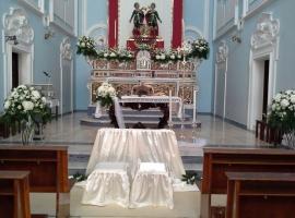 Addobbo Chiesa SS. Cosma e Damiano 3/A