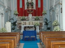 Addobbo Chiesa SS. Cosma e Damiano 6