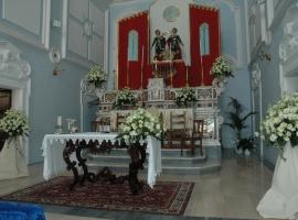 Addobbo Chiesa SS. Cosma e Damiano 6/A