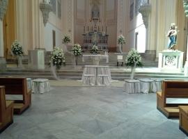 Addobbo Chiesa S. Francesco 3/B