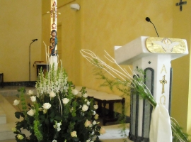 Addobbo Chiesa S. Nilo 4