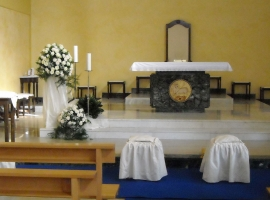 Addobbo Chiesa S. Nilo 3